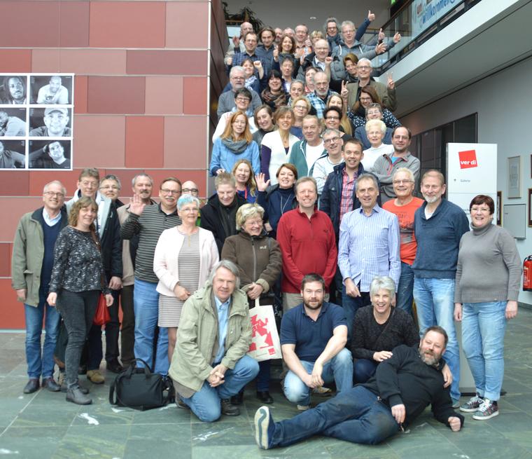 Die Teilnehmerinnen und Teilnehmer der 3. bundesweiten AWO-Tarifkonferenz