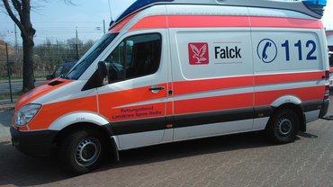 Falck Rettungswagen